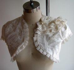 bridal accessori, style idea, bridal shrug