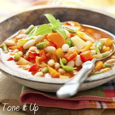 Tone It Up! Blog - We ♡ Food Friday: Fall Flavored Soups!
