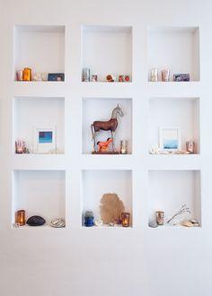 Peek inside 13 of our favorite jewelry designers' homes... #designsponge #sneak peek #jewelry