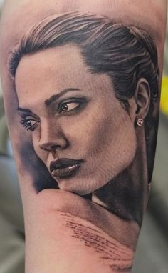 Xavier García Boixn - One of the best portrait tattoo artists ever.