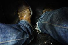 Pecos cowboy boots, clutch, rug boot