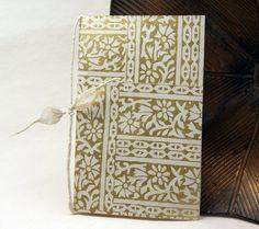 "Seed Paper Wedding Programs custom printed in black ink with handmade paper cover - 25  8.5"" x 11"""