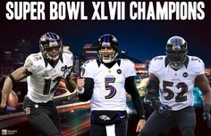 The Baltimore Ravens are Super Bowl XLVII Champions! Joe Flacco is your Super Bowl MVP!