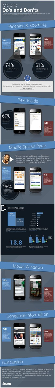 Do's And Don'ts Of Facebook Mobile