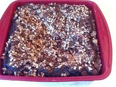No one will ever know that there are almost a pound of nutritious beans in this decadent dessert! A crispy crust and fudgy middle, all achieved without any added fats!