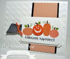 Stampin' Up! Card by Melissa S at The Stamp Doc: Halloween Happiness
