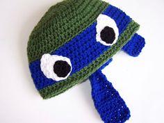 Custom Teenage Mutant Ninja Turtle TMNT Crochet hat