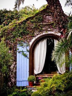 cute the shire, houses, window, dream, shutter, garden cottage, door, homes, little cottages