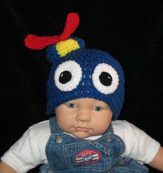 PABLO The Backyardigans Crochet Hat Beanie. $16.99, via Etsy.
