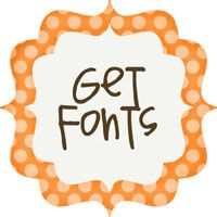 These fonts are ADORABLE...not to mention...FREE!