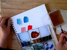Cathy Johnson's Strathmore watercolor Lesson 1