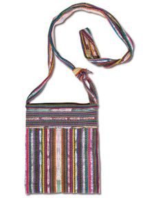 SoulFlower-NEW! Mayan Recycled Shoulder Bag-$18.00