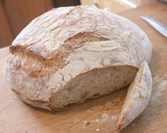 Crusty artisan bread