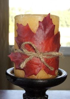 Autumn Leaves Decorations  www.tablescapesbydesign.com https://www.facebook.com/pages/Tablescapes-By-Design/129811416695