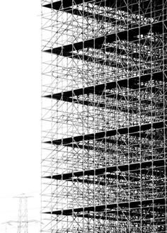 Beautiful scaffolding
