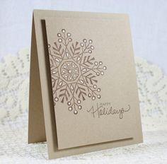 Handmade Holiday  Christmas Greeting Card by EndlessInkHandmade, $3.25