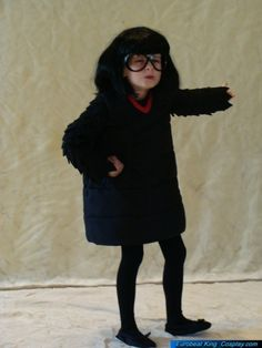 """E. Edna Mode from the Incredibles, cosplay.    """"Yes, words are useless! Gobble-gobble-gobble-gobble-gobble! Too much of it, darling, too much! That is why I show you my work! That is why you are here!"""""""