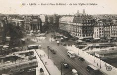Paris 1934. Place St. Michel