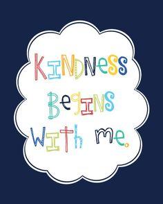 One of many kindness prints...