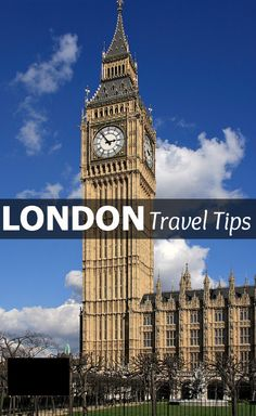 Travel Tips - Things to do in London, England