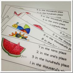 place value games for math stations?!