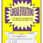 This activity consists of 8 centers. Each center consists of 6 problems related to writing equations of lines in slope-intercept form.Many of the slopes are fractions as well as many of the y-intercepts. I also gave some parallel and perpendicular line equations in standard form for practice in solving for y.