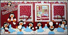 diann scrappi, winter, ice cube, scrappi creation, candi cane