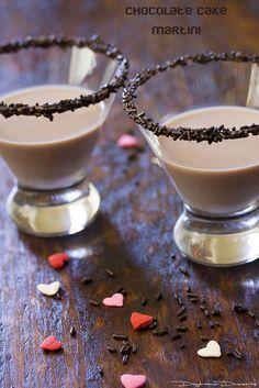 Chocolate Cake Martini