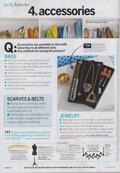 Effortless Anthropologie: Metapost: Lucky Magazine's impressive closet organization how-to