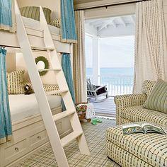 Cottage bunk room....