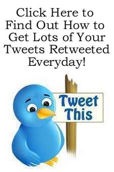 How to Get Lots of ReTweets to Thousands of Twitter Users Everyday http://fiverr.com/chivvy/show-you-how-to-get-your-ad-tweeted-to-thousands-of-people-on-twitter