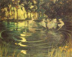 "Arthur John Black (1851-1914), ""Fairies' Whirl"""