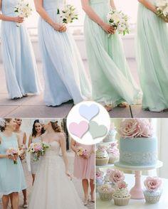 New Summer Bridesmaid Dress Fun: Pretty Pastels