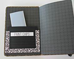 """home design book  - how to make a """"my home"""" design book"""