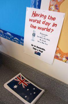 Classroom Management Tool - Having a Bad Day? Go to Australia!