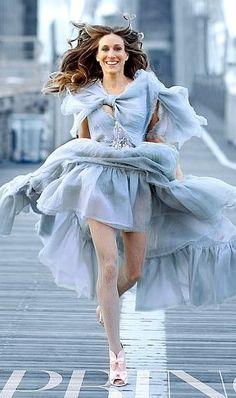 SJP as Carrie Bradshaw