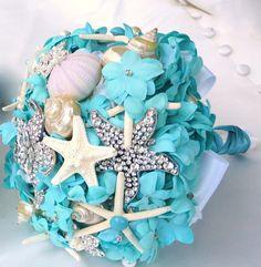 Tiffany Blue Wedding Bouquet