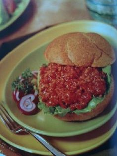 Eating for Life - Sloppy Joes Recipe by KAYKETTERLING via @SparkPeople