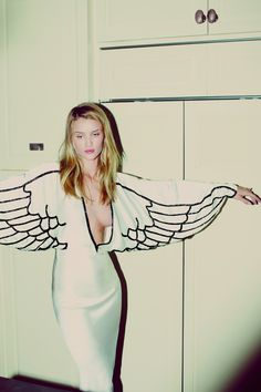 ROSIE HUNTINGTON-WHITELEY BY GUY AROCH (SUMMER WITH ROSE - MUSE MAGAZINE #34 SUMMER 2013) Pure Angel