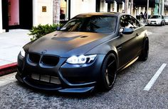 I'm not a fan of beamers at all, but this is the shit! =) *** BMW M3 // Matte Paint