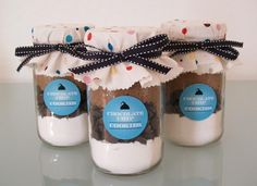 Gift idea - DIY mason jar cookies