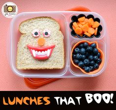 Lunches that BOO! │Halloween lunches from Meet the Dubiens and many more!