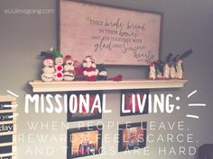 Missional Living: Wh