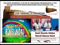 LA VERDAD O FALSEDAD DE LAS 7 LEYES DE NOE  ROEH RICARDO M Y MOREH MARCO...