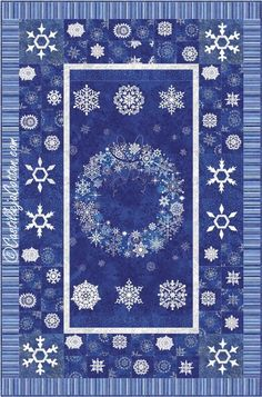 Starry Nights Snowflakes pattern 4690-4 pattern on Craftsy.com
