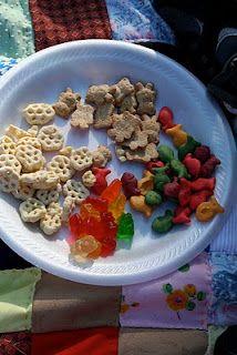 teddy bear picnic food