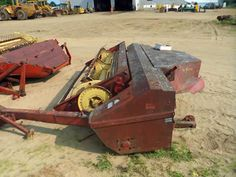 New Holland 489 hay equipment salvaged for used parts. Call 877-530-4430. We buy salvage farm equipment. 7 salvage yards in the Midwest. http://www.TractorPartsASAP.com