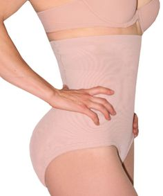 High-waist sexy body shaper with  removable foam pads.  Strong powernet fabric compresses mid section, while the removable butt pads nicely round your behind.  Get an Hourglass Figure with this all-in-one body shaper.  $28.45