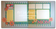 Dotty for You layout - Annette Green