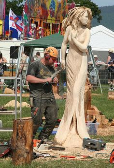 Chainsaw Carved statue